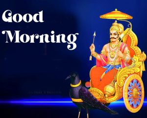 Good Morning shani dev hd pics