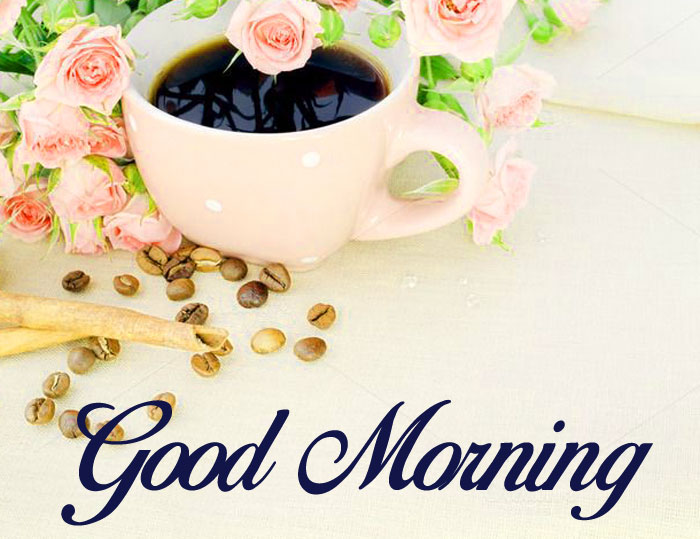 balck coffee Good Morning images hd