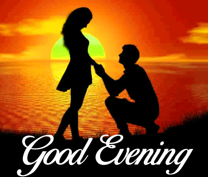 best love Good Evening couple photo