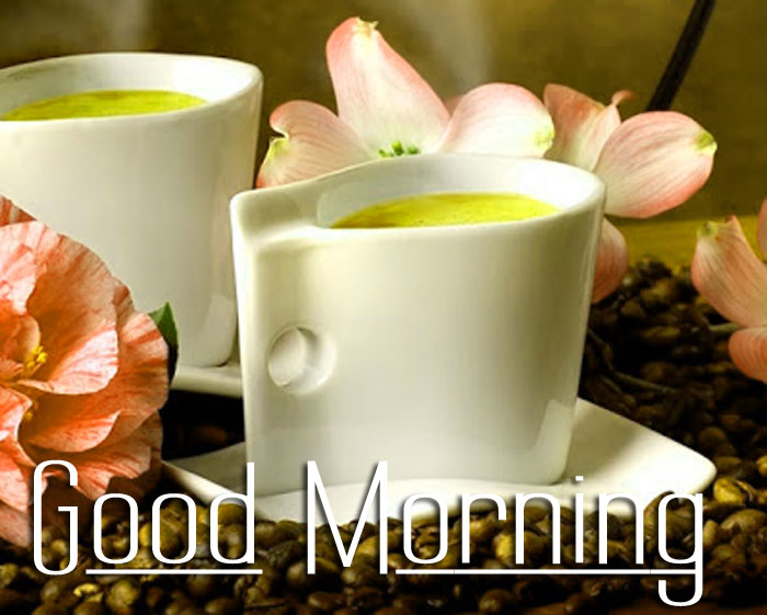 best white cup Good Morning images hd