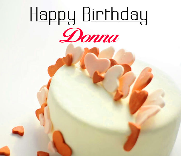 cute cake Happy Birthday donna photo