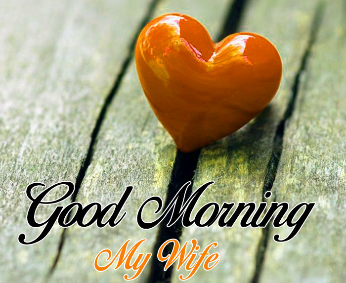 cute heart Good Morning My Wife images