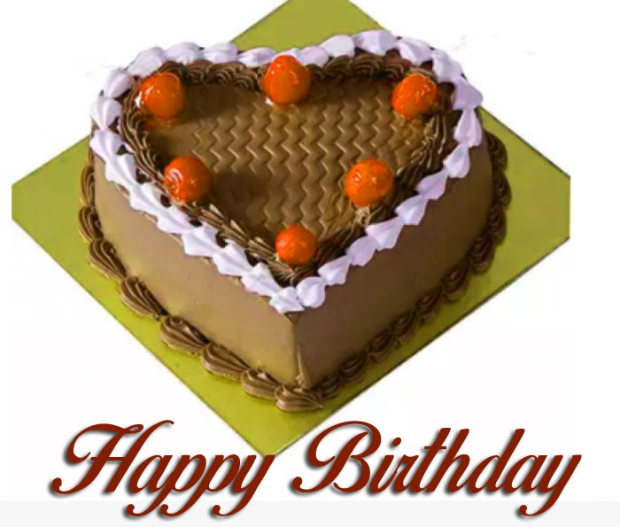 cute love cake Happy Birthday images