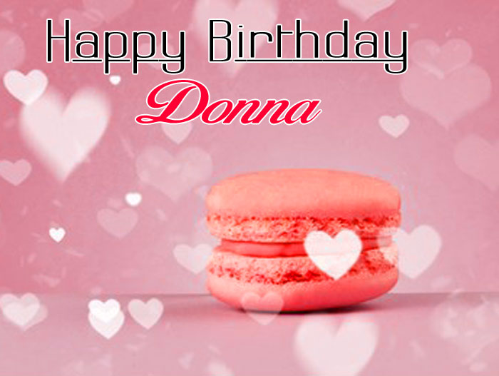 cute pink cake Happy Birthday donna wallpaper