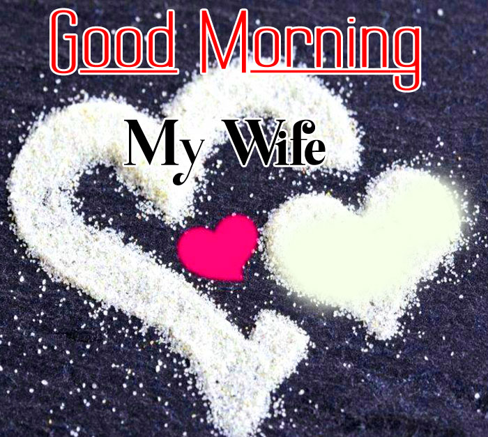 heart Good Morning My Wife images hd