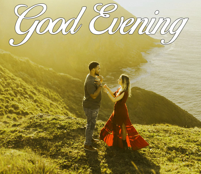 latest Good Evening couple hd wallpaper