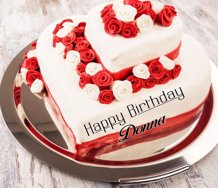latest white cake Happy Birthday donna wallpaper
