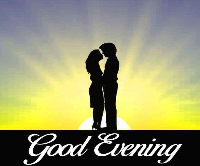 love Good Evening couple images hd