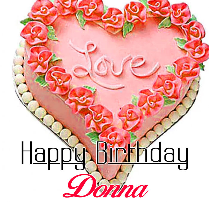 new cake Happy Birthday donna images hd