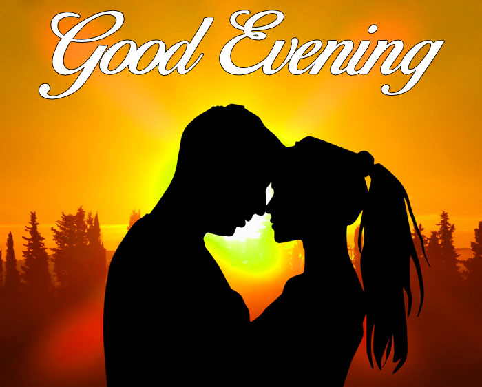 nice couple Good Evening wallpaper