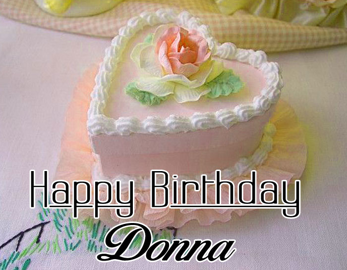 nice heart Happy Birthday donna images hd