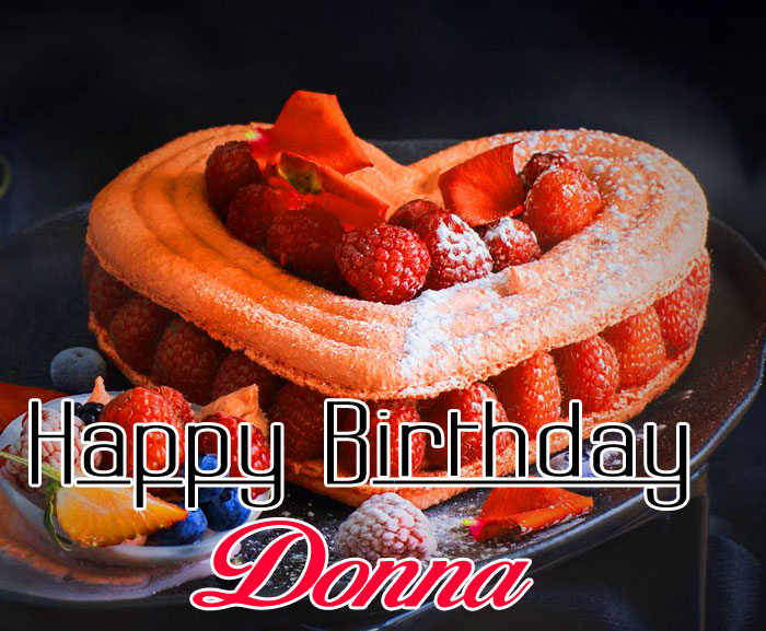 nice heart Happy Birthday donna pics