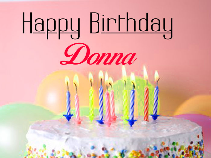 nicee cake Happy Birthday donna wallpaper