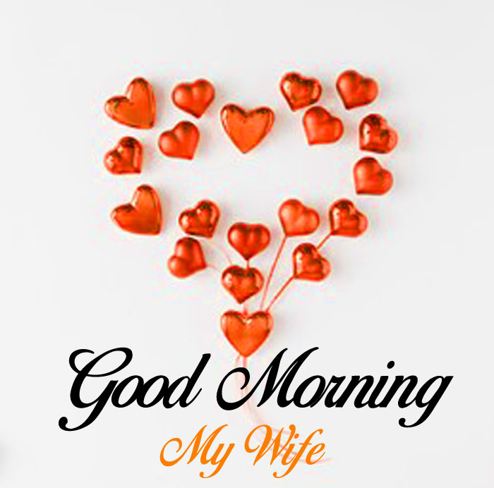 red heart Good Morning My Wife wallpaper
