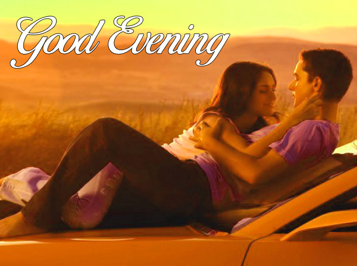romantic Good Evening couple pics