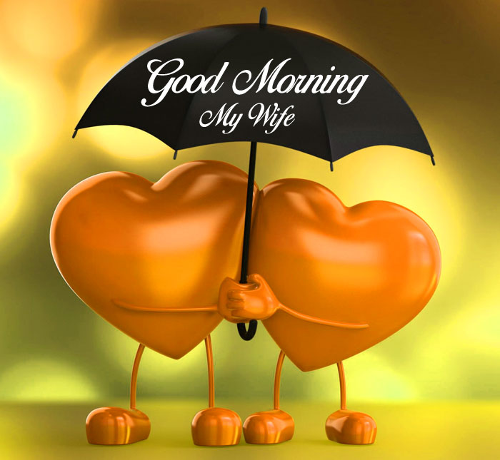 romantic Good Morning My Wife images hd