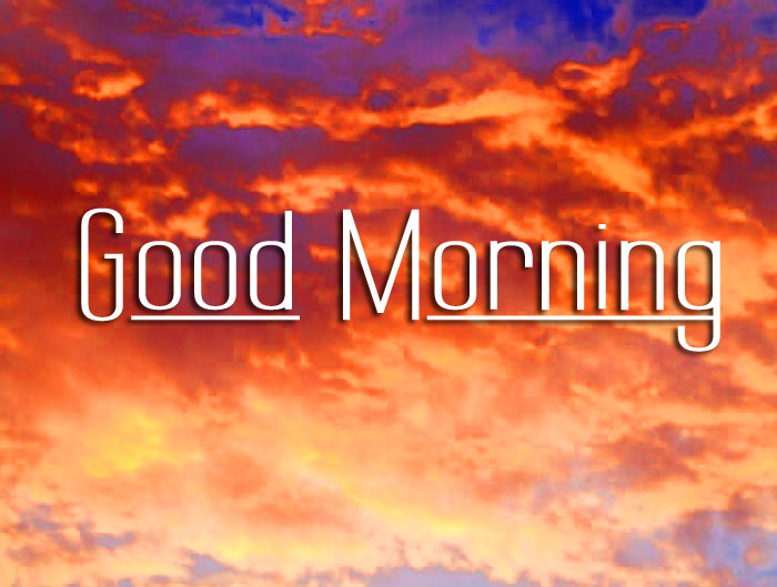 sunrise Good Morning wallpaper