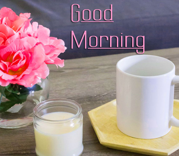 white cup Good Morning images hd